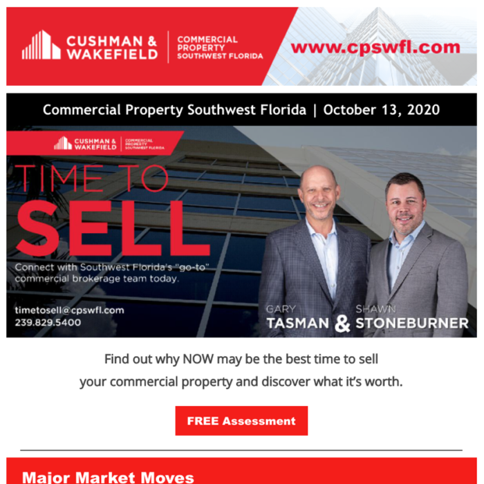 October 2020 Time to Sell Newsletter