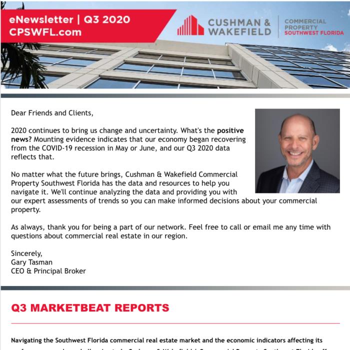 Q3 2020 Newsletter