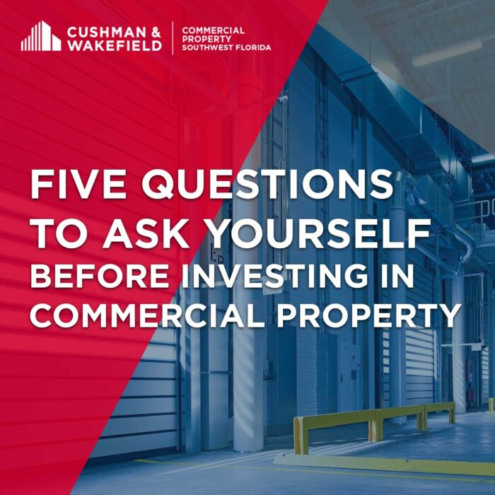 Five Questions Before Investing in Commercial Property
