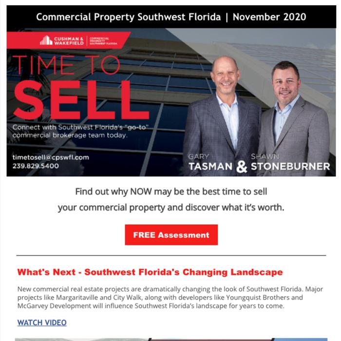 November 2020 Time to Sell Newsletter