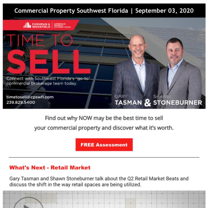 September 2020 Time to Sell Newsletter