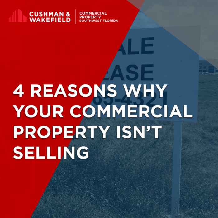 Four Reasons Why Your Commercial Property Isn't Selling