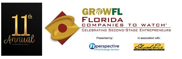"""CPSWFL finalist for GrowFL """"Florida Companies to Watch"""""""